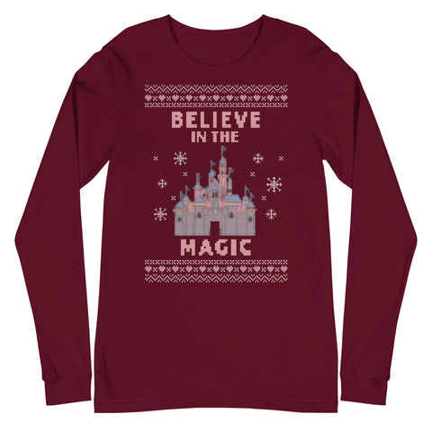 Believe in the Magic Disneyland Unisex Long Sleeve Tee