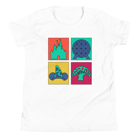 Pop Art Youth Short Sleeve T-Shirt