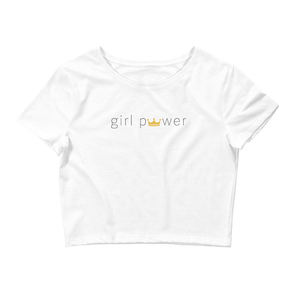 Girl Power Crop Tee