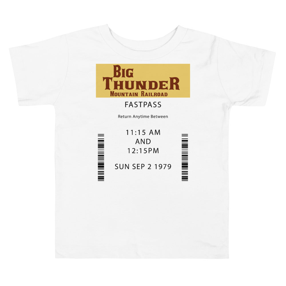Big Thunder Toddler Short Sleeve Tee
