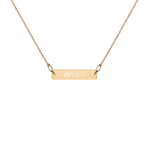 WISH Bar Necklace
