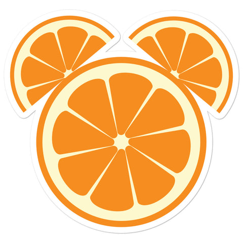 Citrus Mickey Sticker