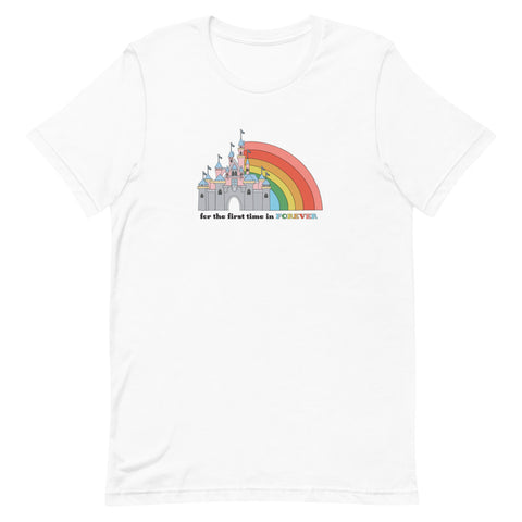 First Time in Forever - Disneyland Unisex T-Shirt