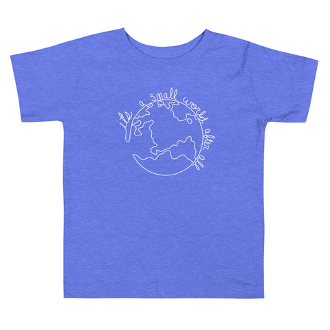 Small World Toddler Short Sleeve Tee