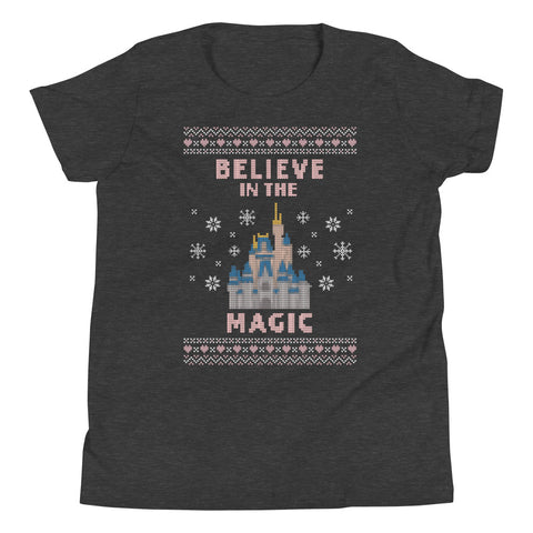 Believe in the Magic WDW Youth Short Sleeve T-Shirt