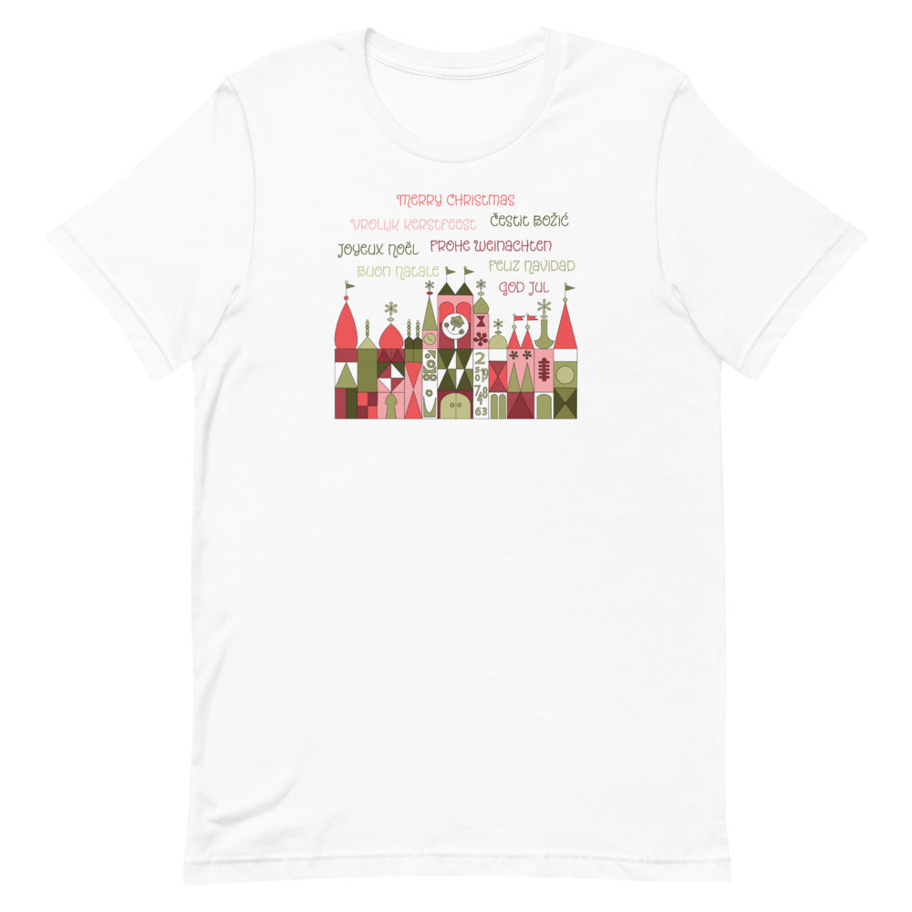 A Small World Christmas Unisex T-Shirt