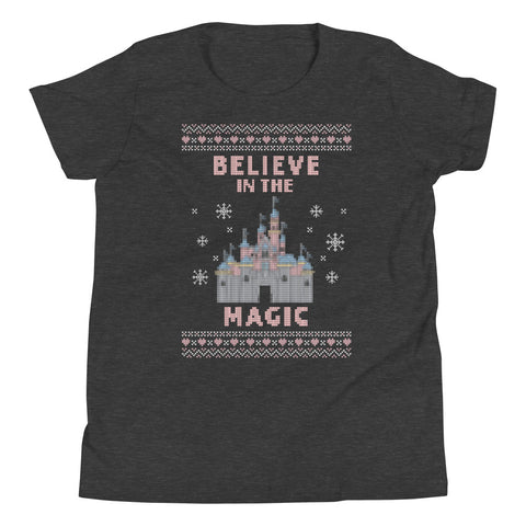 Believe in the Magic - Disneyland Youth Short Sleeve T-Shirt