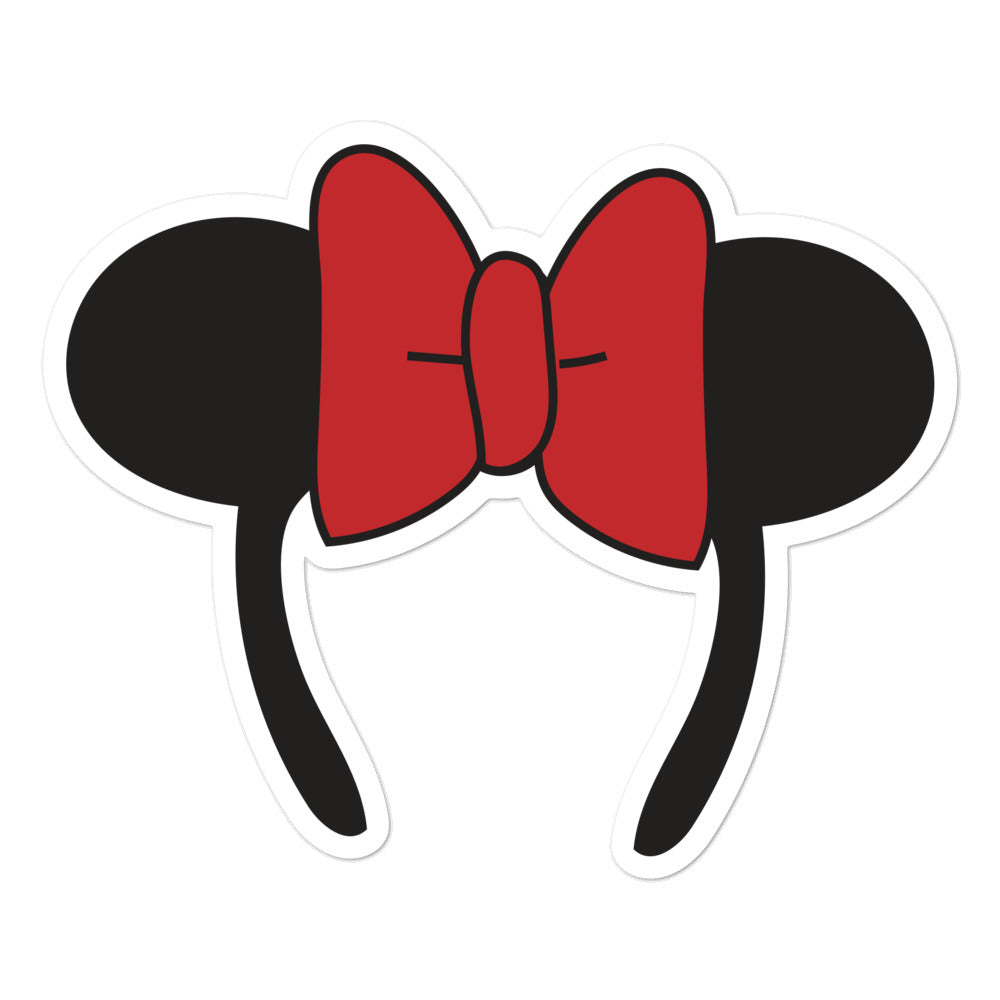 Minnie Ear Sticker