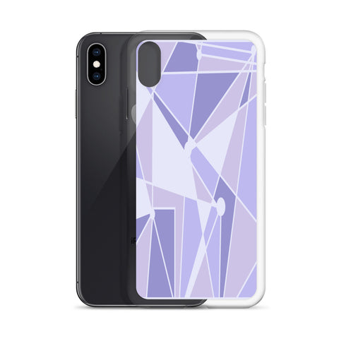 Purple Wall iPhone Case