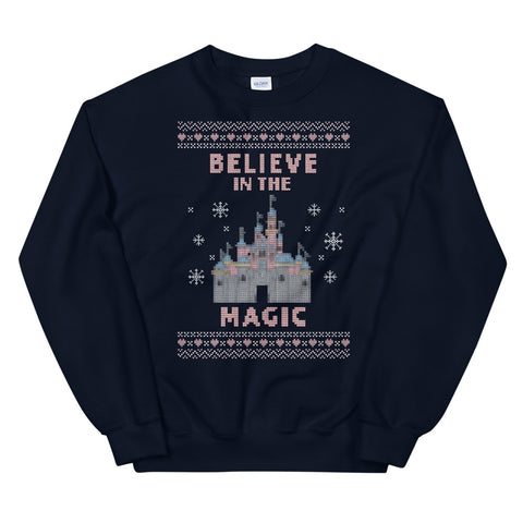 Believe in the Magic Disneyland Unisex Sweatshirt