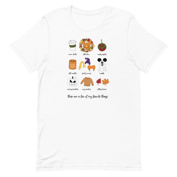 Fall Favorites Unisex T-Shirt
