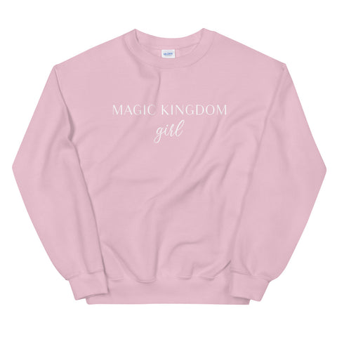 Magic Kingdom Girl Unisex Sweatshirt