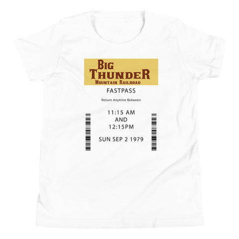 Big Thunder Youth Short Sleeve T-Shirt
