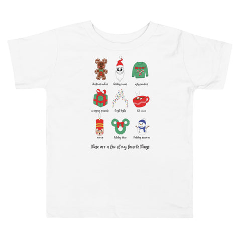 Holiday Favorites Toddler Short Sleeve Tee