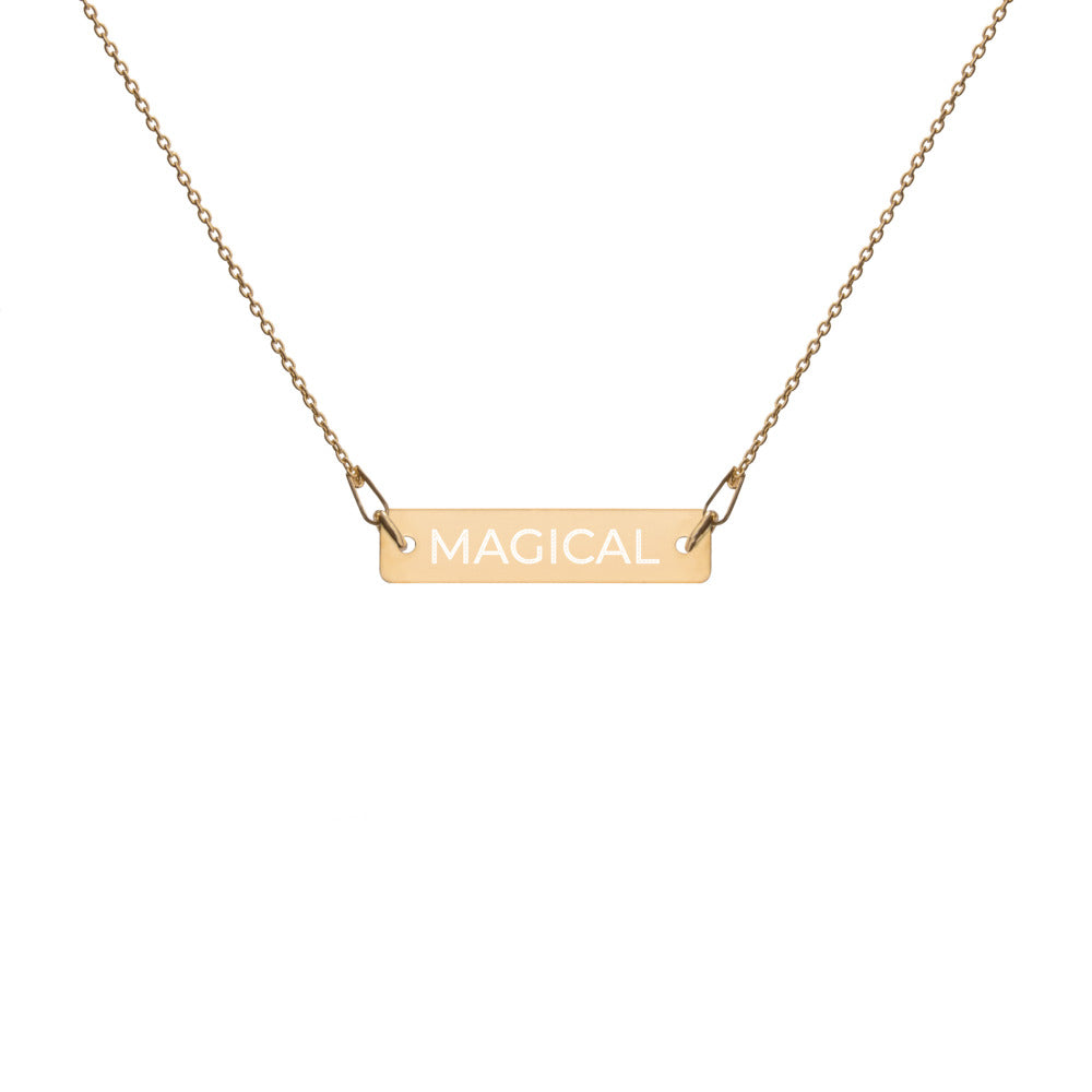 MAGICAL Bar Necklace