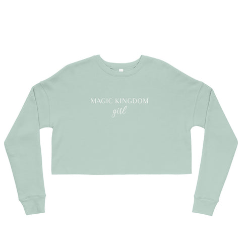 Magic Kingdom Girl Crop Sweatshirt