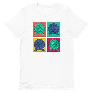 Epcot Pop Art Unisex T-Shirt