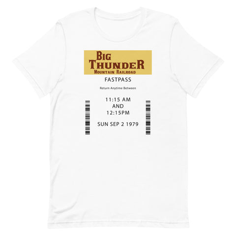 Big Thunder Unisex T-Shirt