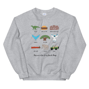 Animal Kingdom Favorites Unisex Sweatshirt