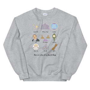 Disneyland Favorites Unisex Sweatshirt