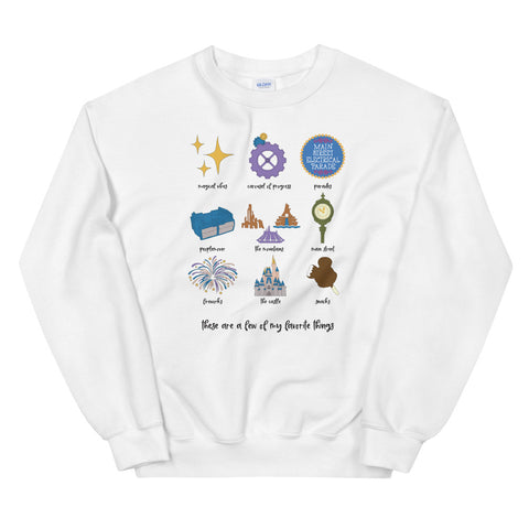Magic Kingdom Favorites Unisex Sweatshirt