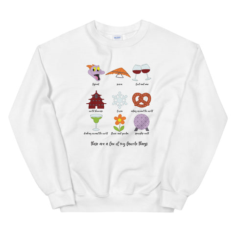 Epcot Favorites Unisex Sweatshirt