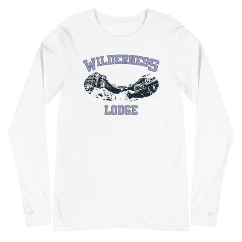 Wilderness Lodge Unisex Long Sleeve Tee