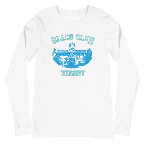 Beach Club Unisex Long Sleeve Tee