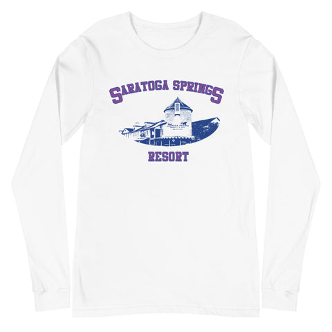 Saratoga Springs Unisex Long Sleeve Tee