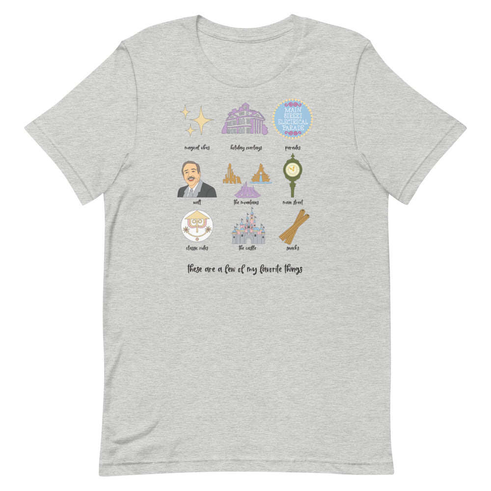 Disneyland Favorites Unisex T-Shirt