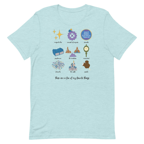 Magic Kingdom Favorites Unisex T-Shirt
