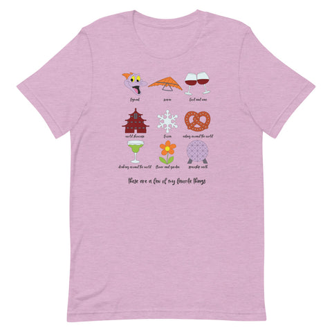 Epcot Favorites Unisex T-Shirt