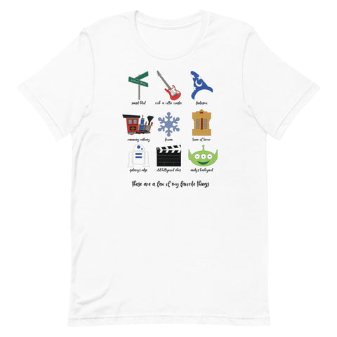 Hollywood Studios Favorites Unisex T-Shirt