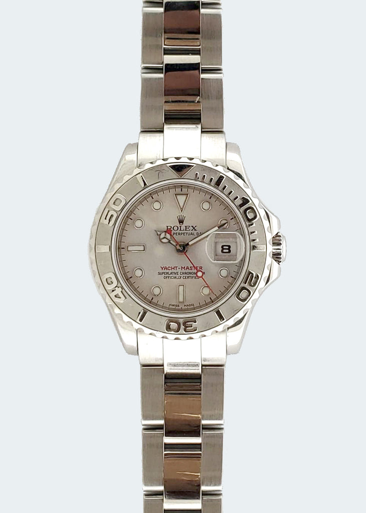 Women's Rolex Yacht Master with Grey Dial