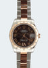 18k R/G and S/S Rolex Oyster Perpetual Datejust (Everose) Year 2012