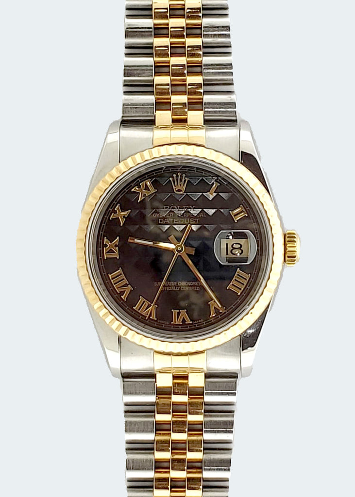 Two Tone Rolex Datejust Yr 2002/2003