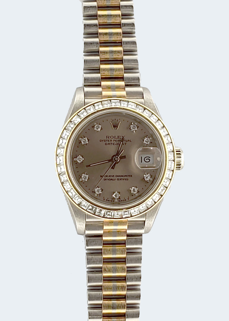 Women's Rolex Datejust Tridor