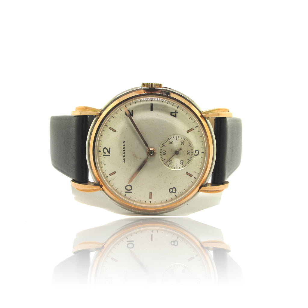 Longines 2-Tone Fancy Lugs Rose Gold/Steel
