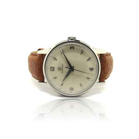 Classic 1950 Omega Dress Watch in S.Steel