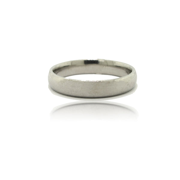 Platinum 3mm Wide Ring