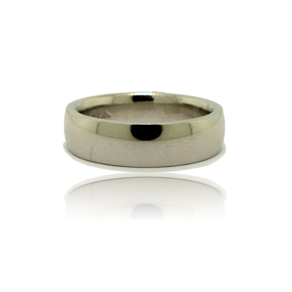Platinum 4mm Wedding Band