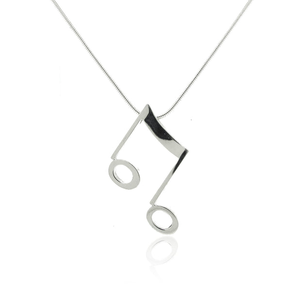 Sterling Silver Note Pendant made for the Victoria Symphony