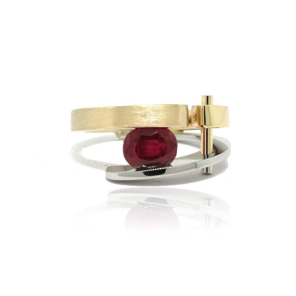 Ruby Architect Ring
