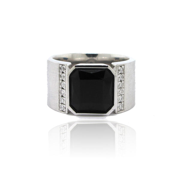 Custom Black Onyx Ring