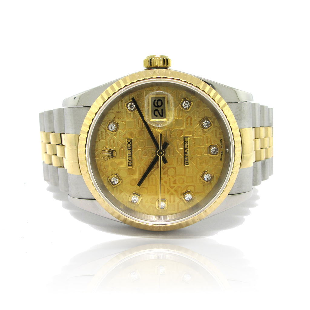 Rolex DateJust with Diamond Dial year 1996