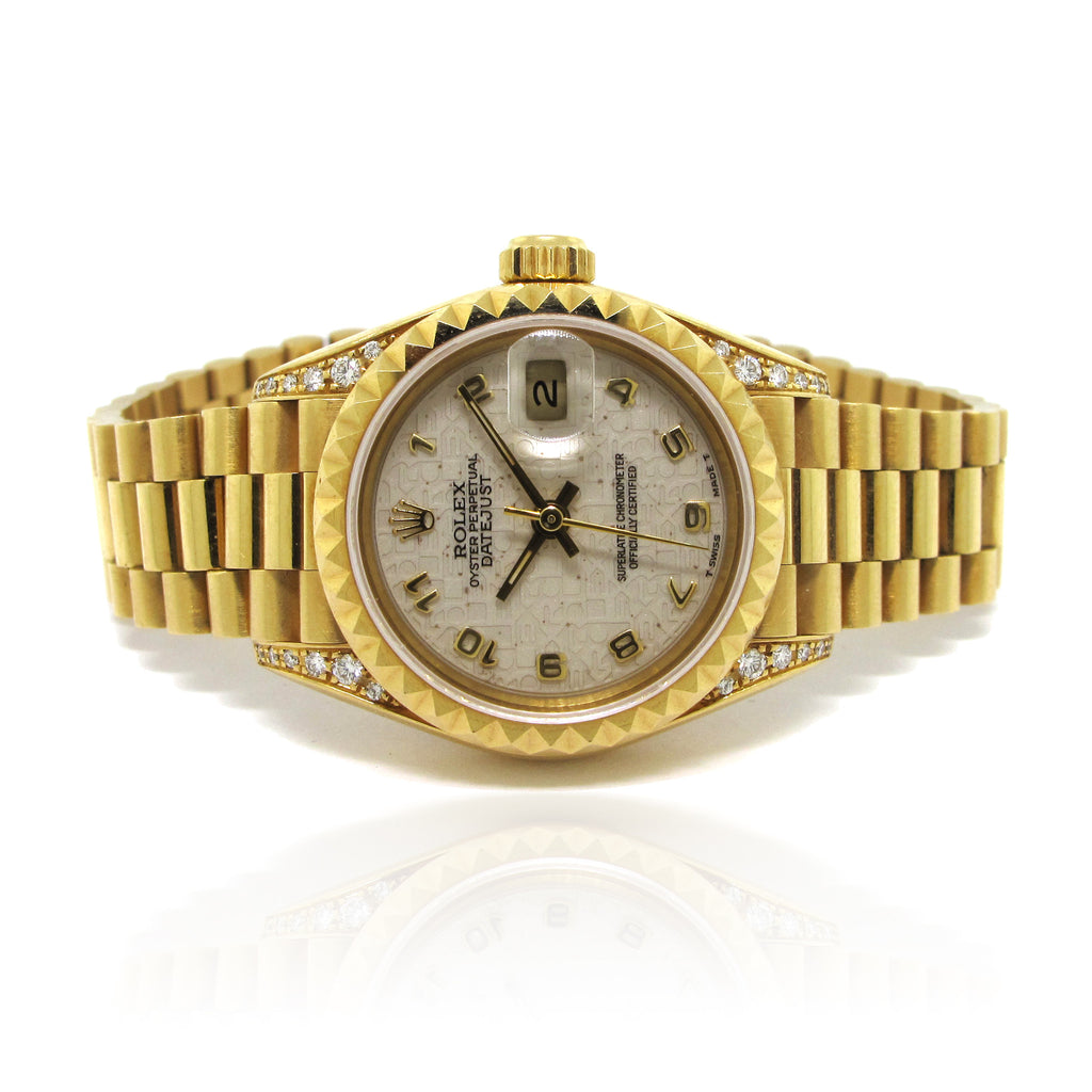 Ladies Rolex DateJust yr 1993