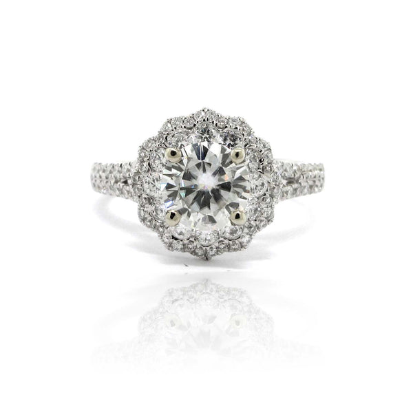 May Moissanite Ring