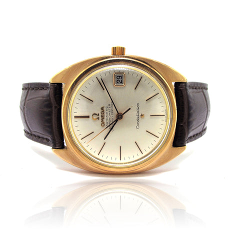 Omega Constellation Rose Gold Capped yr 1970