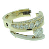14K Y/W Arthritic Shank Diamond Ring