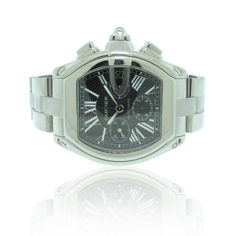 Cartier Roadster Chrono XL Sz